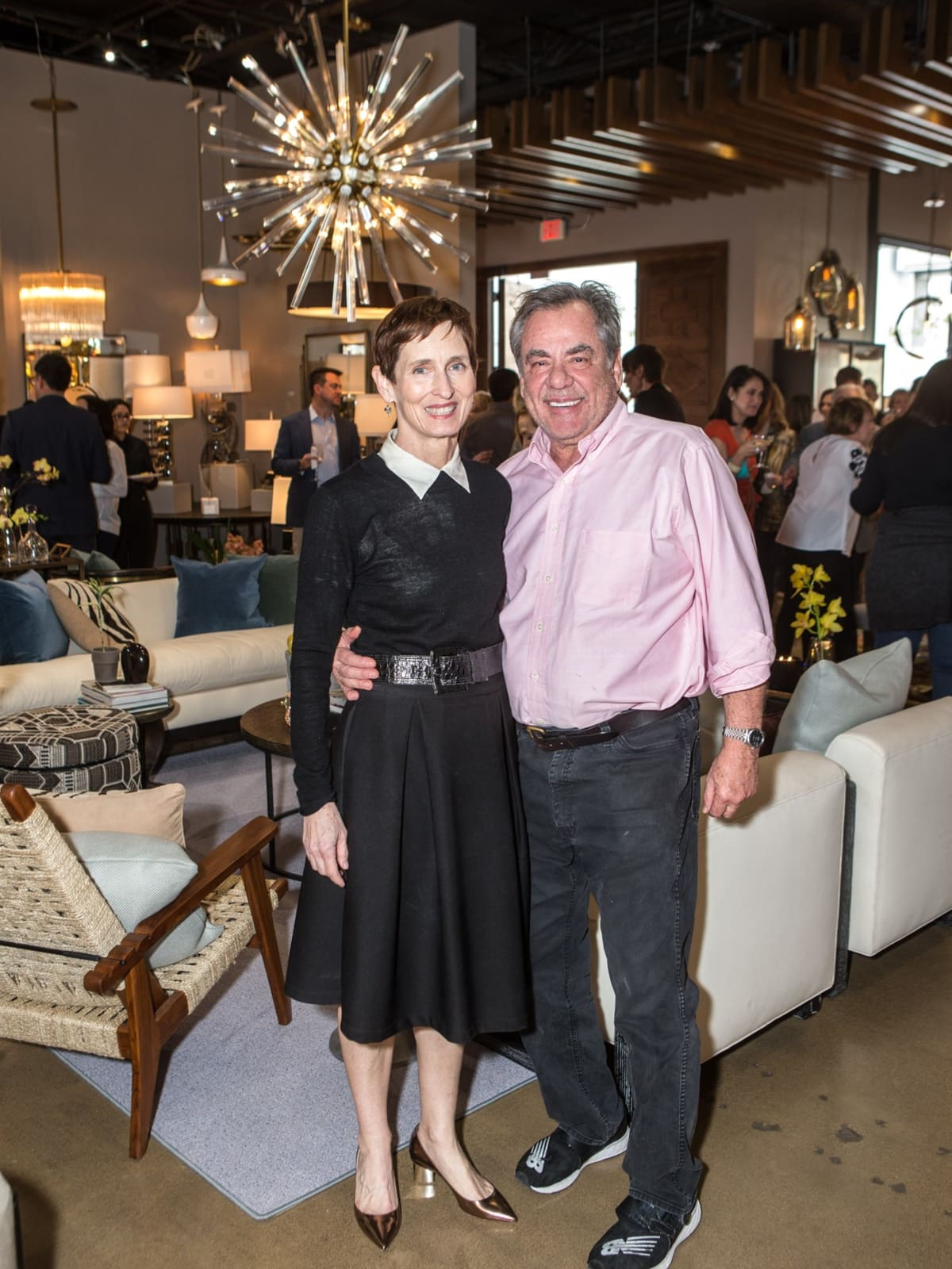 Robert and Meaders Ozarow, Empire Baking, Arteriors Party 2018
