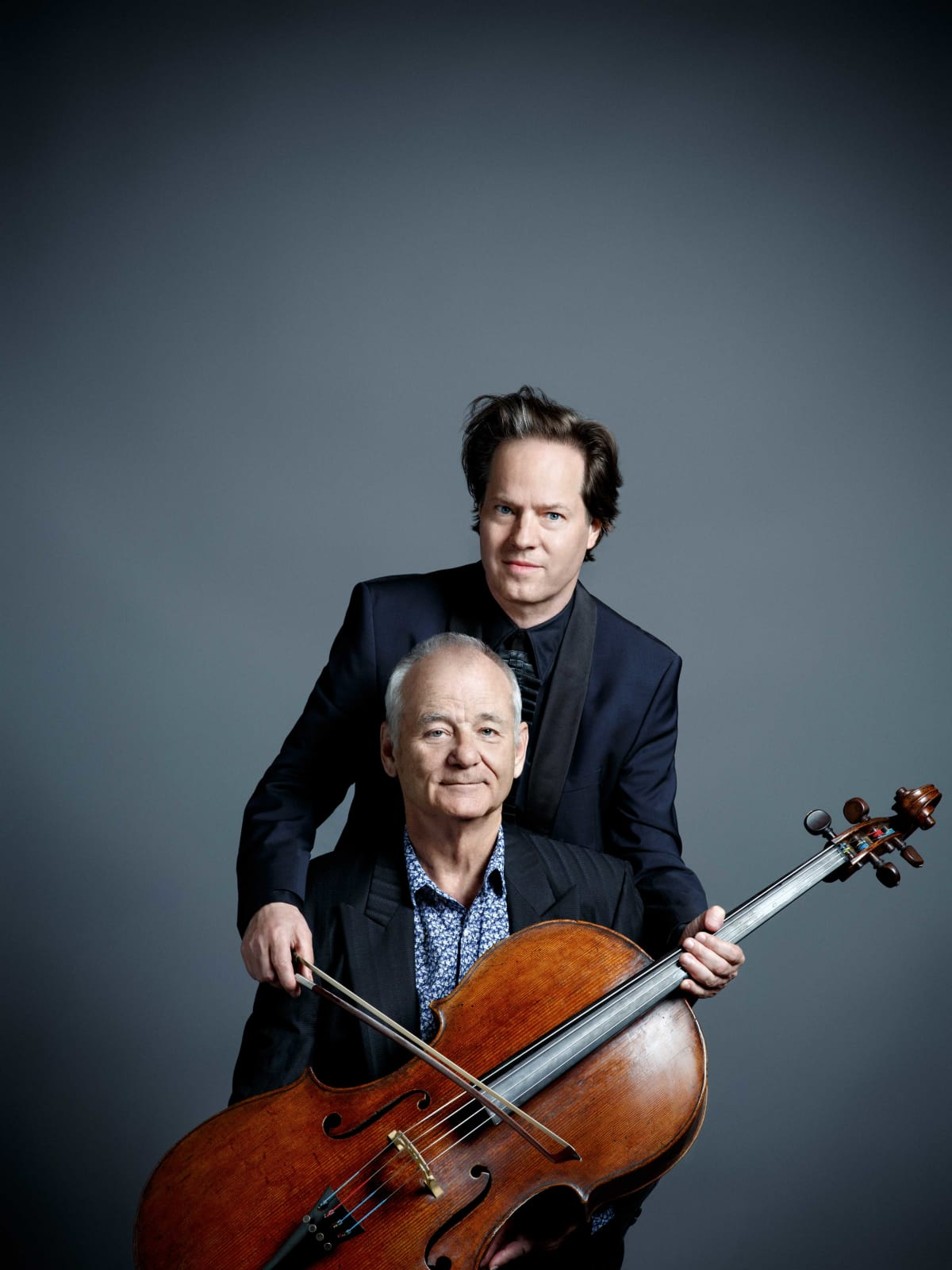 Bill Murray and Jan Vogler