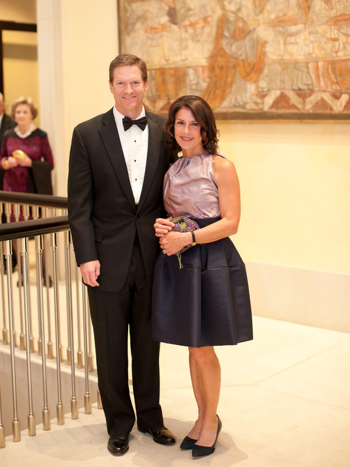 Jay Henry, Pilar Henry, Meadows Museum gala
