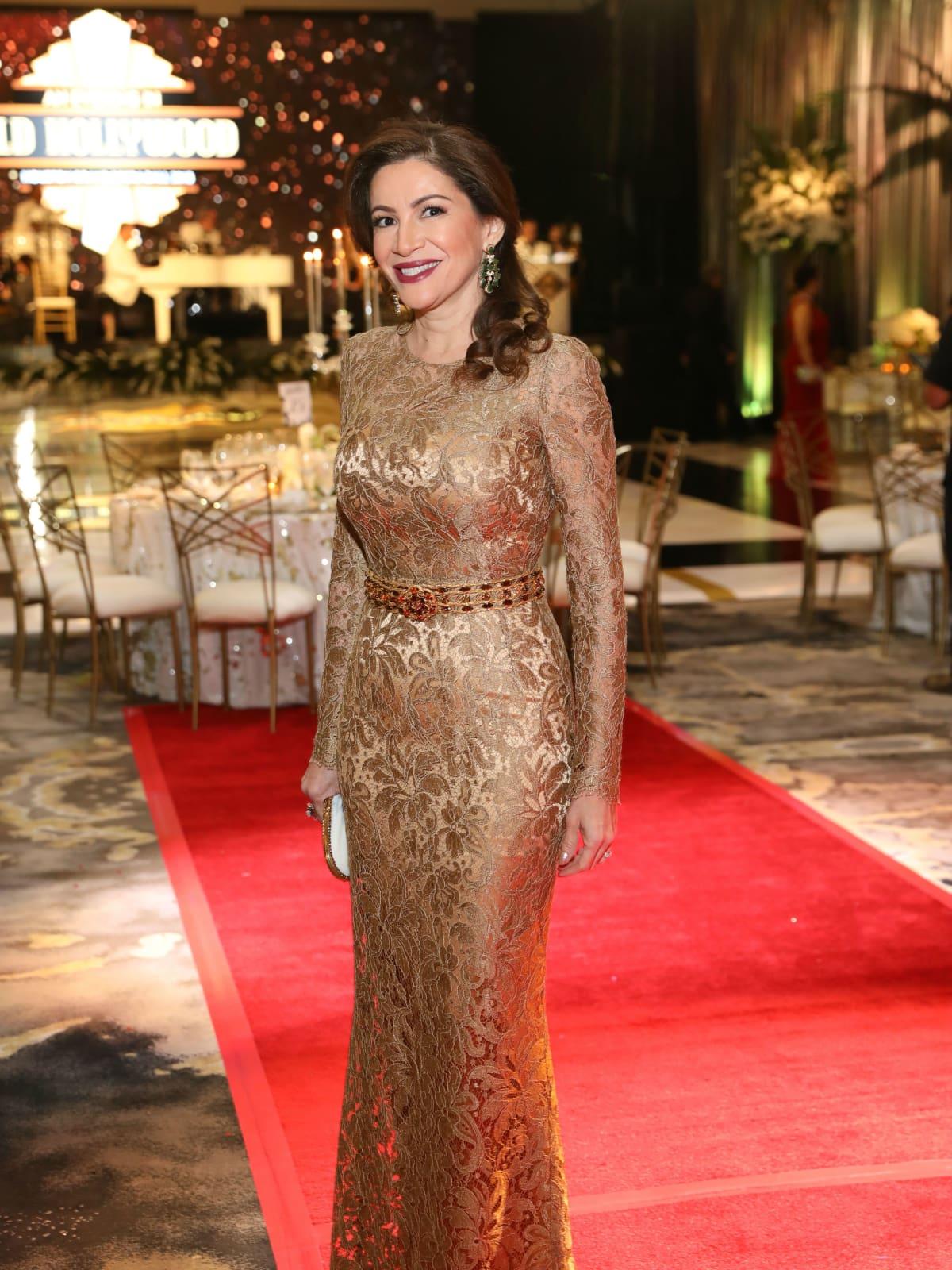 Opera Ball gowns Alex Blair in Dolce & Gabbana