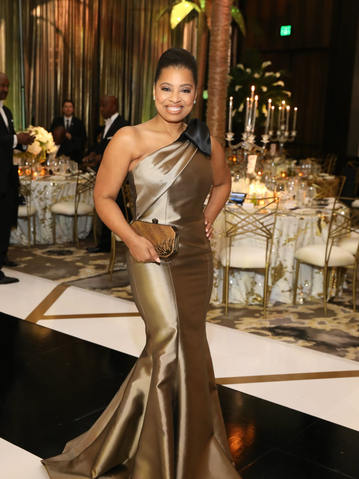 Opera Ball gowns Shawntell McWilliams in Frascara