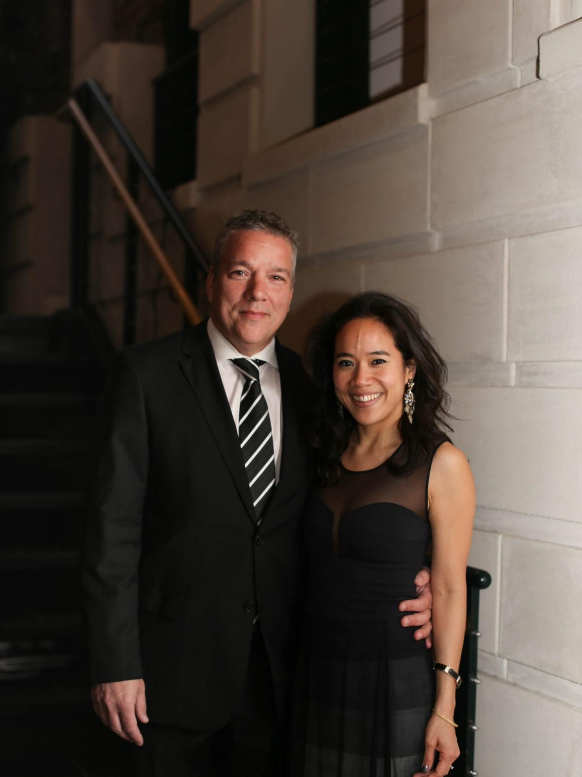 Fort Worth Opera Gala 2018, Jacques Marquis, Sandra Doan