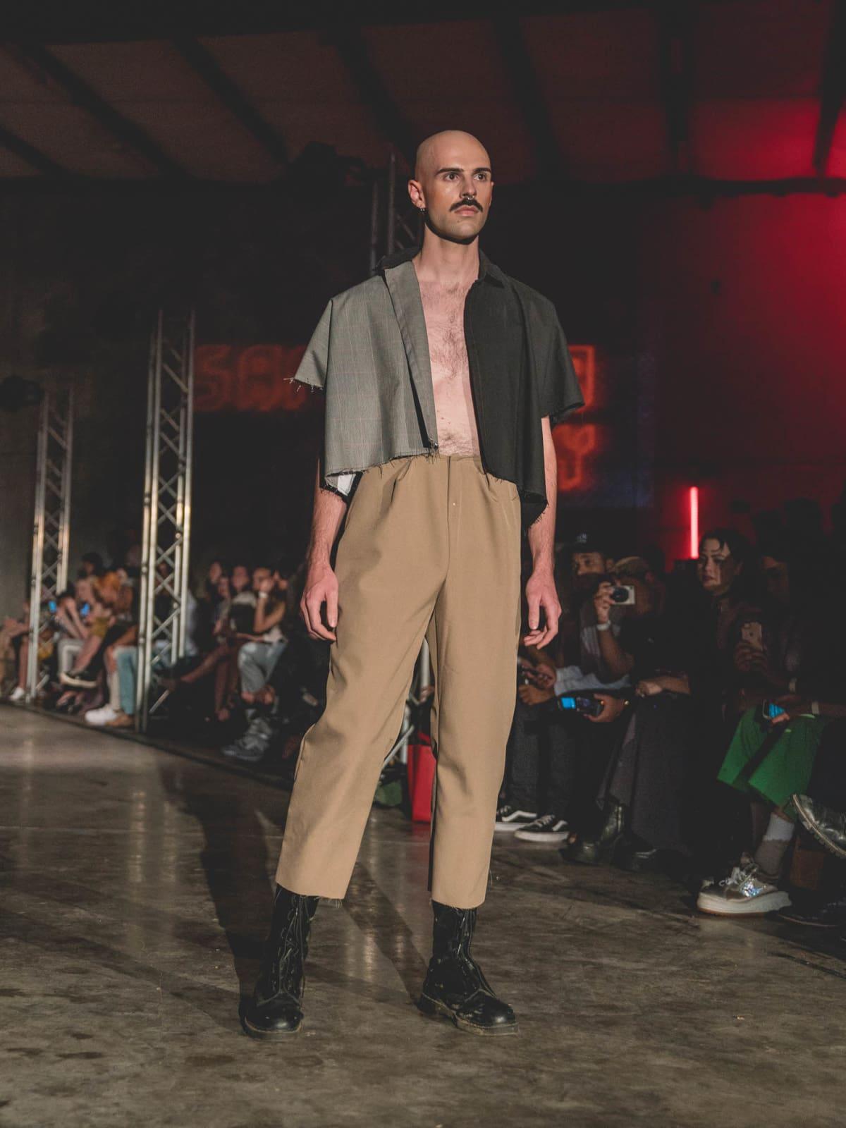 Diptych II Fashion Show Samantha Fabry