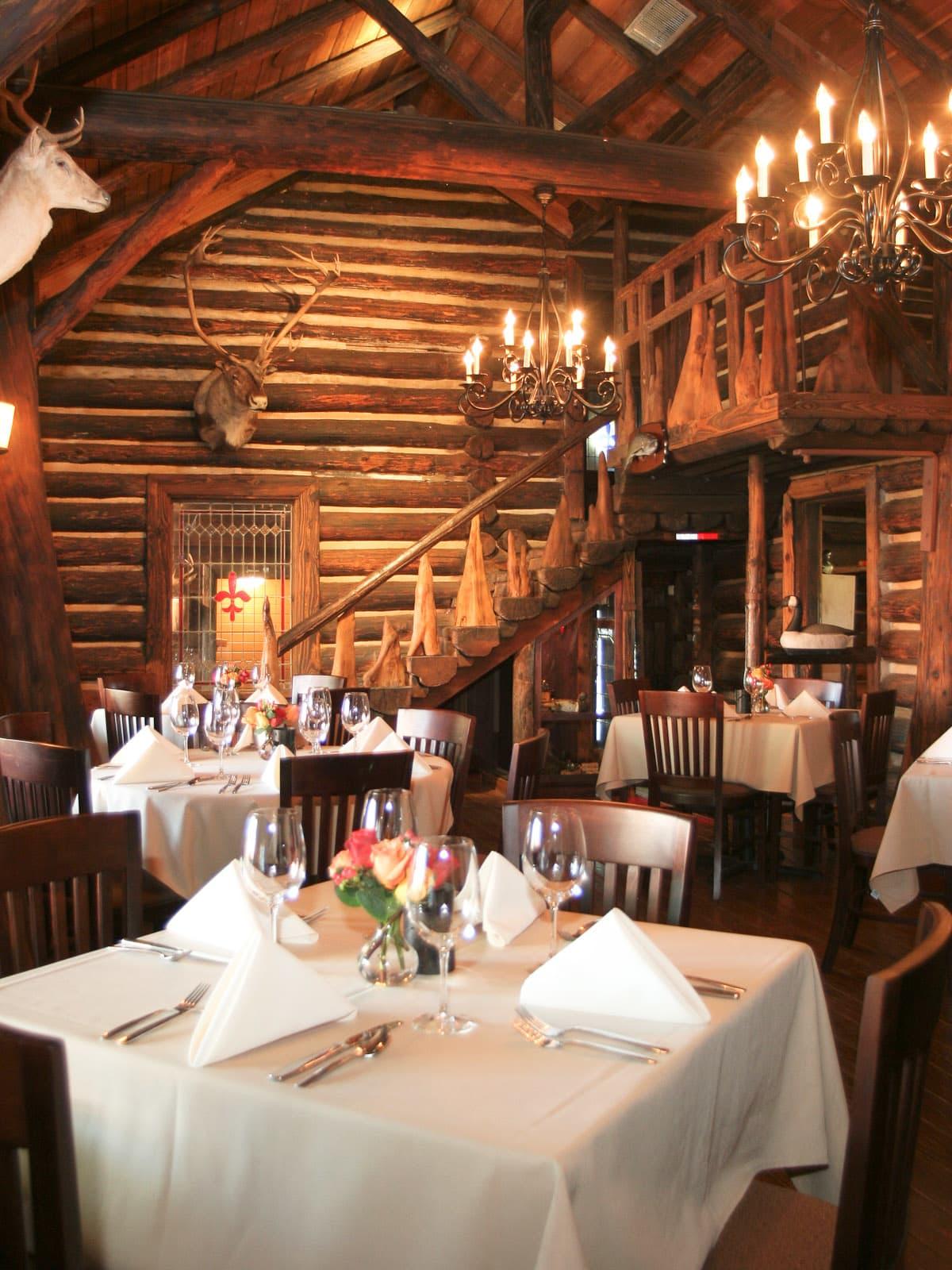 Places-Food-Rainbow Lodge restaurant interior