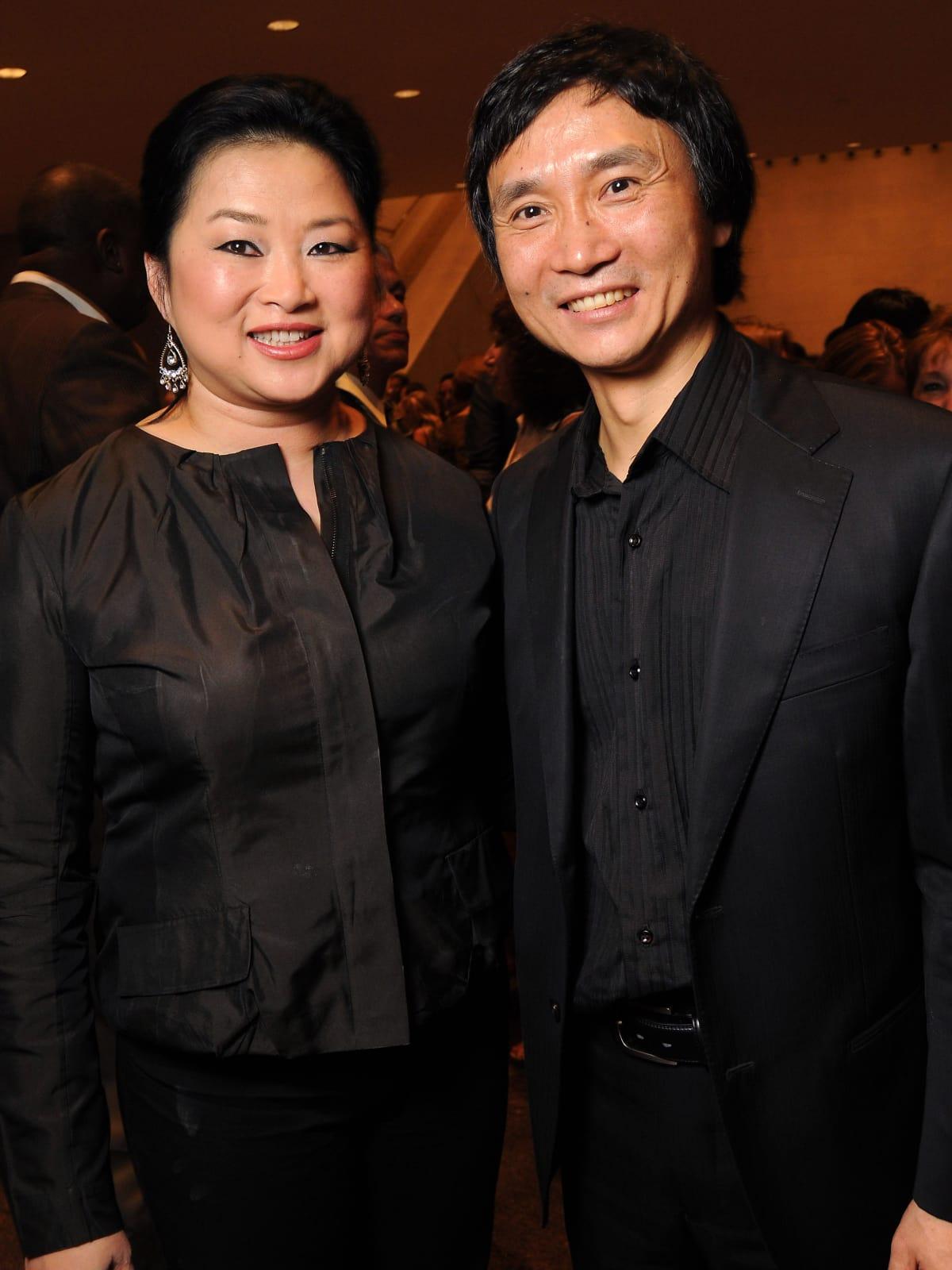 News_Li Cunxin_ Gigi Huang_August 2010