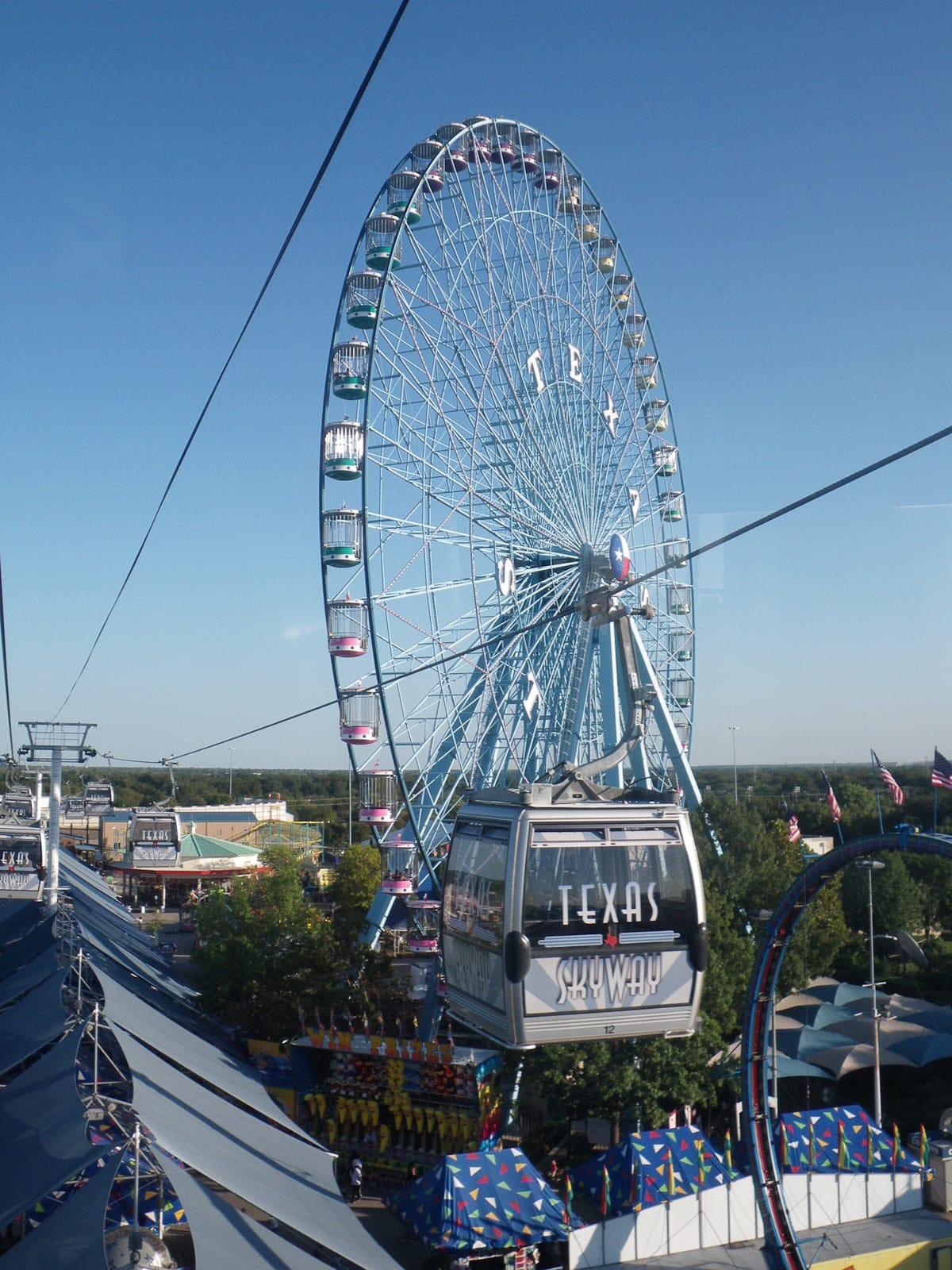 News_State Fair of Texas_Ferris Wheel_Texas Skyway