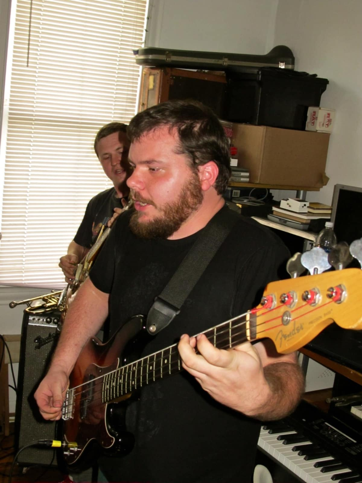 Marshall Graves on Bass Guitar