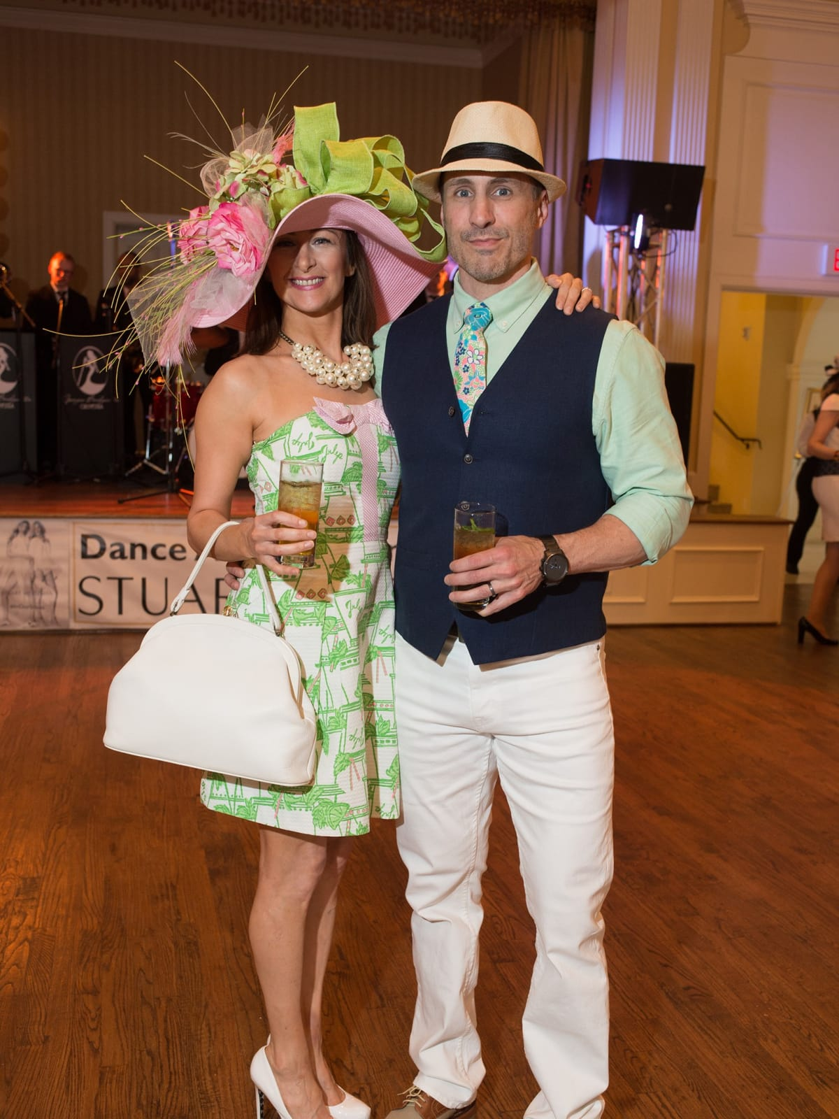 Day at the Races 2018, Shannon and Jeff Showah