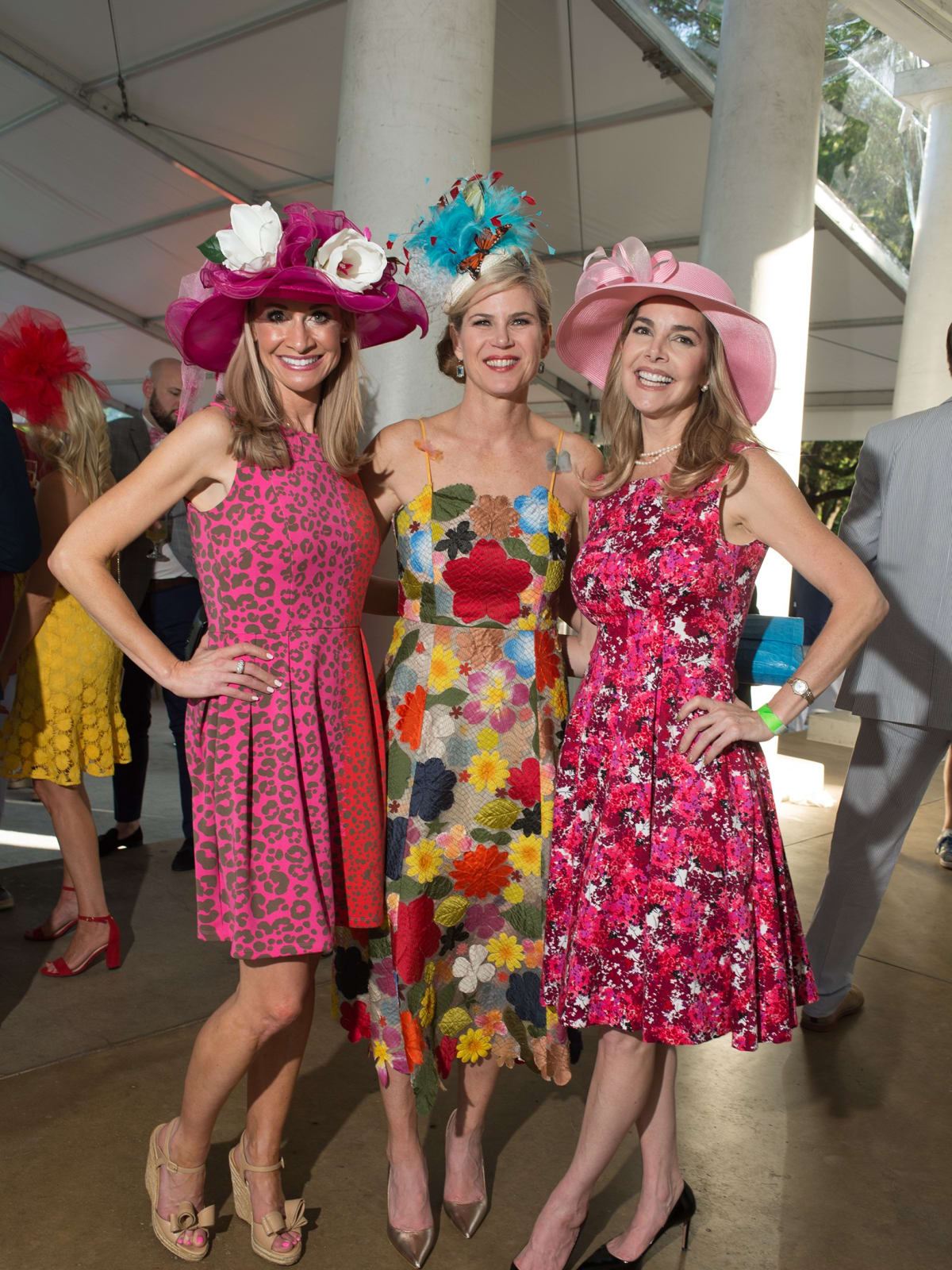 Day at the Races 2018, Maggie Kipp, Teffy Jacobs and Amanda Ward