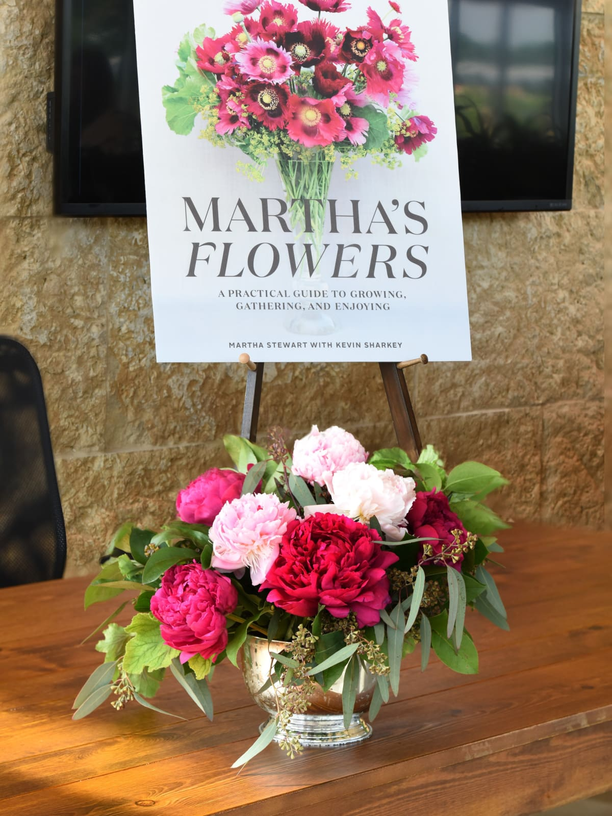 Martha Stewart event at Dallas Arboretum 2018