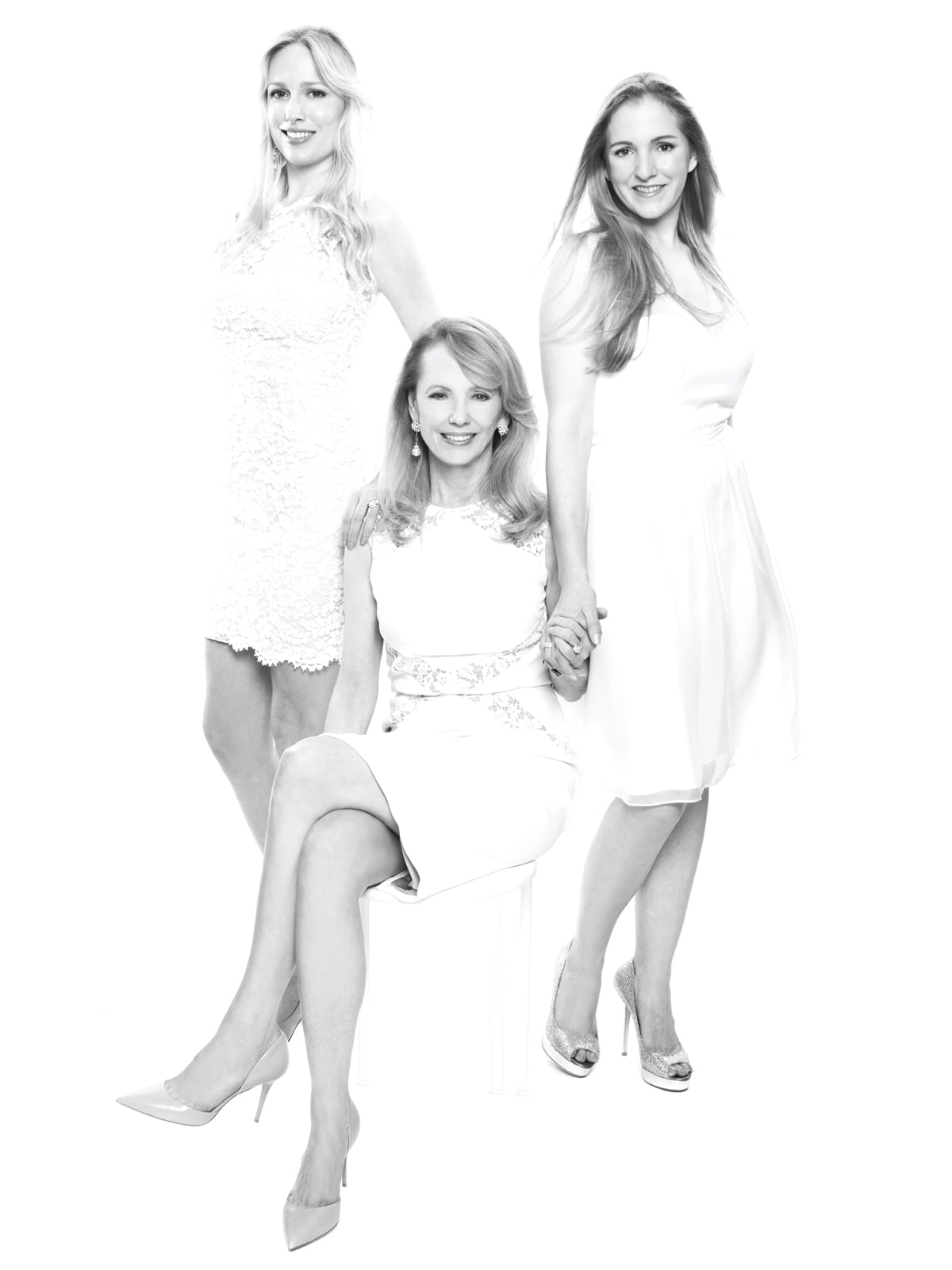 Fashion genes mother daughter April 2014  Lori Krohn, from left, Susan Krohn and Kelly Krohn