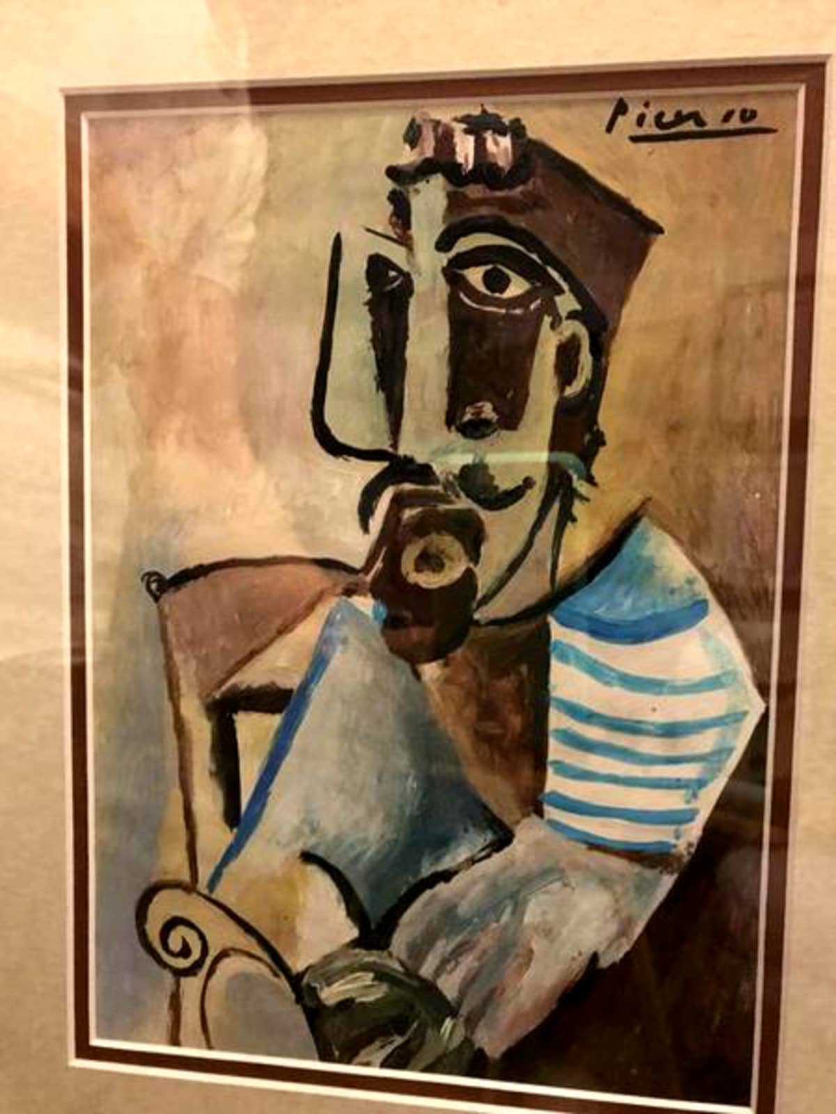 Houston Picasso painting for sale Nextdoor ad