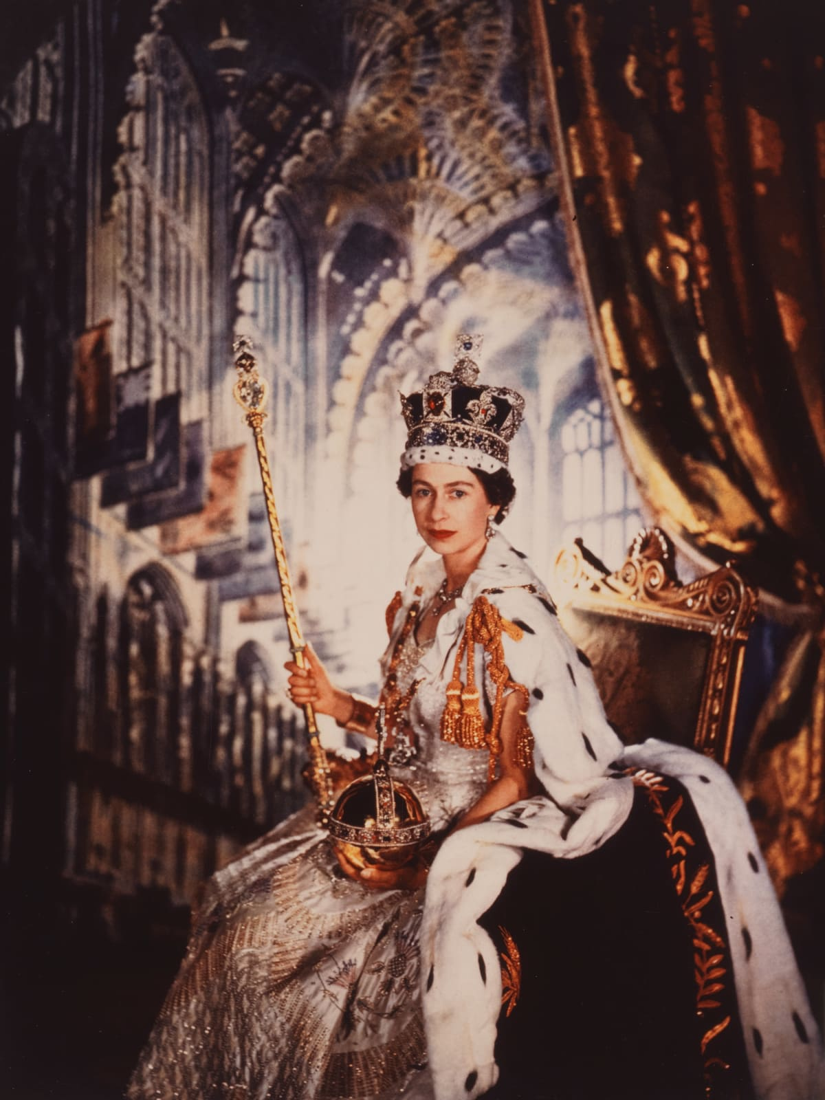 MFAH Tudors to Windsors, Cecil Beaton, Queen Elizabeth II