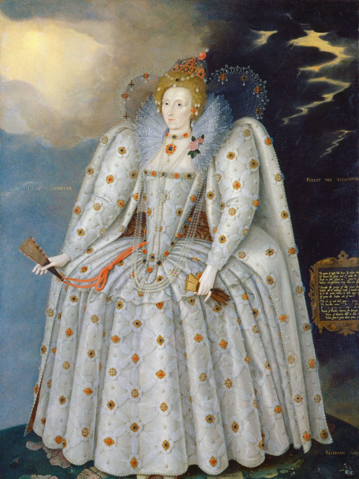 MFAH Tudors to Windsors, Marcus Gheeraerts the Younger, Queen Elizabeth I