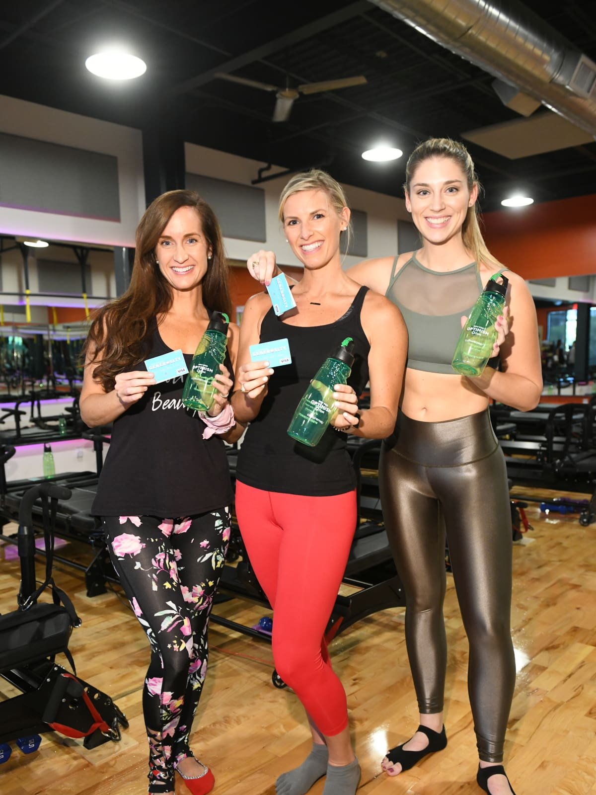 Women at Frost it Forward Fitness