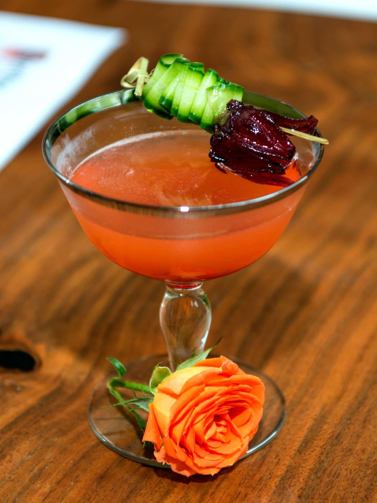 El Navegente cocktail