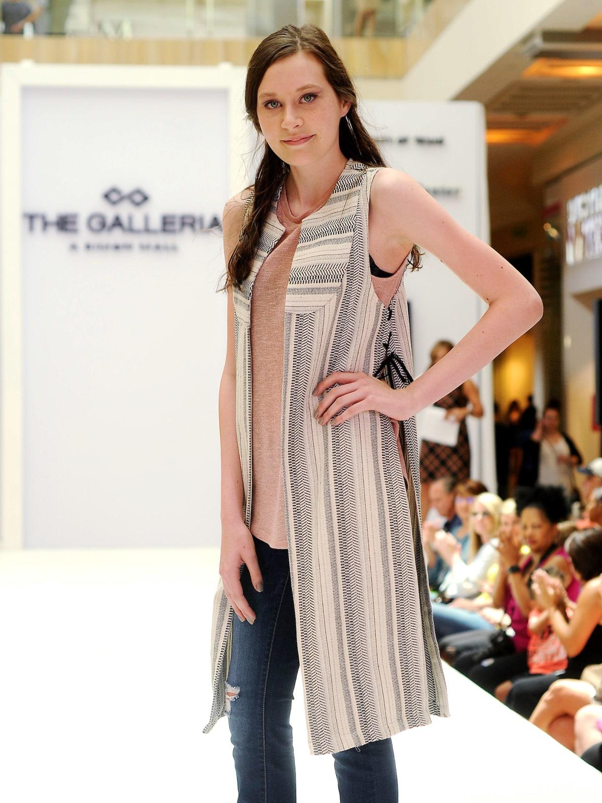 MD Anderson fashion show patient Sydney Kallus
