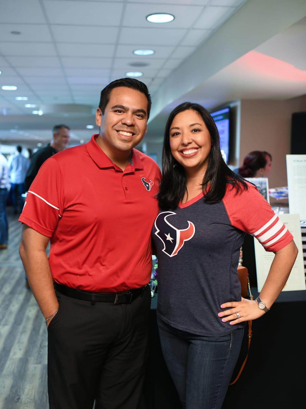 Fantasy football Joe and Monica Casiano