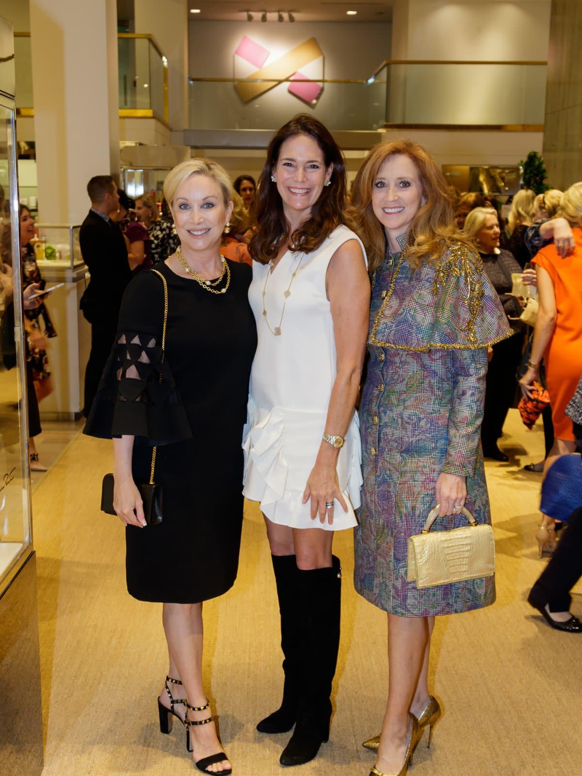 Tiffany Divis, Margaret Hancock, Kim Hext