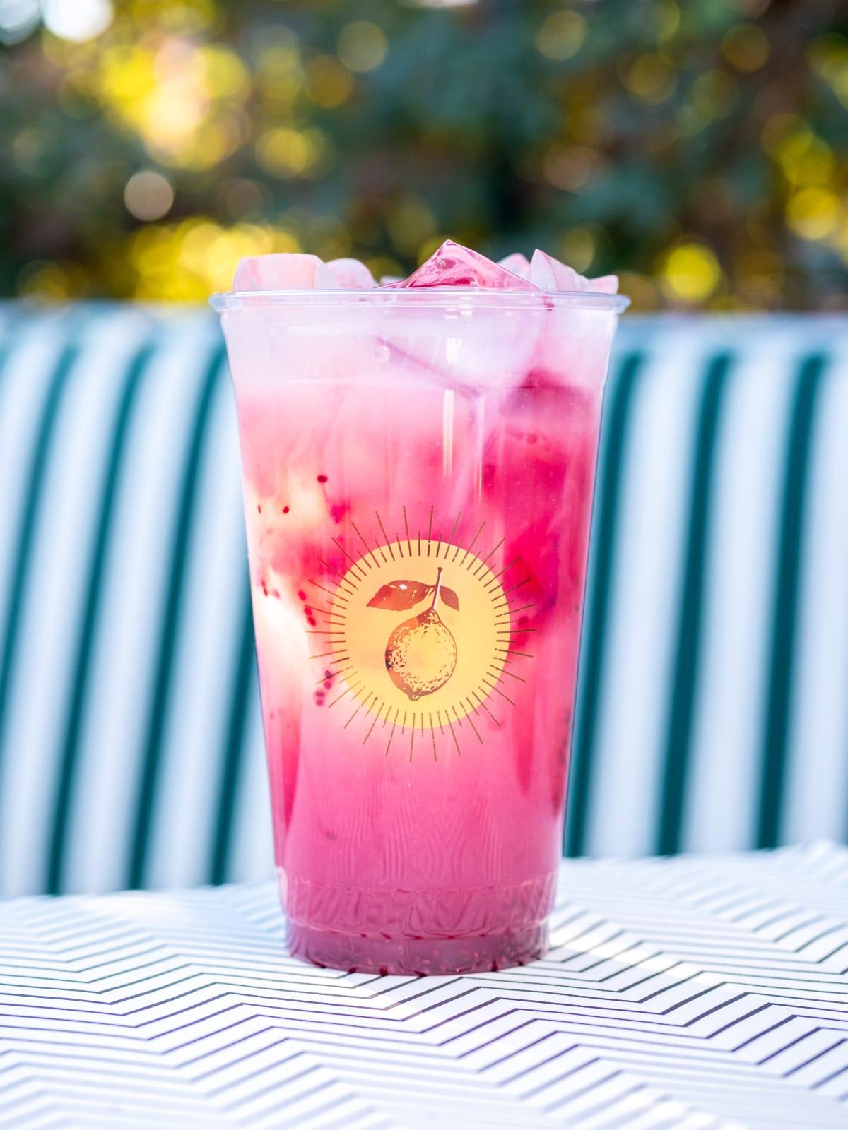 Chia lemonade