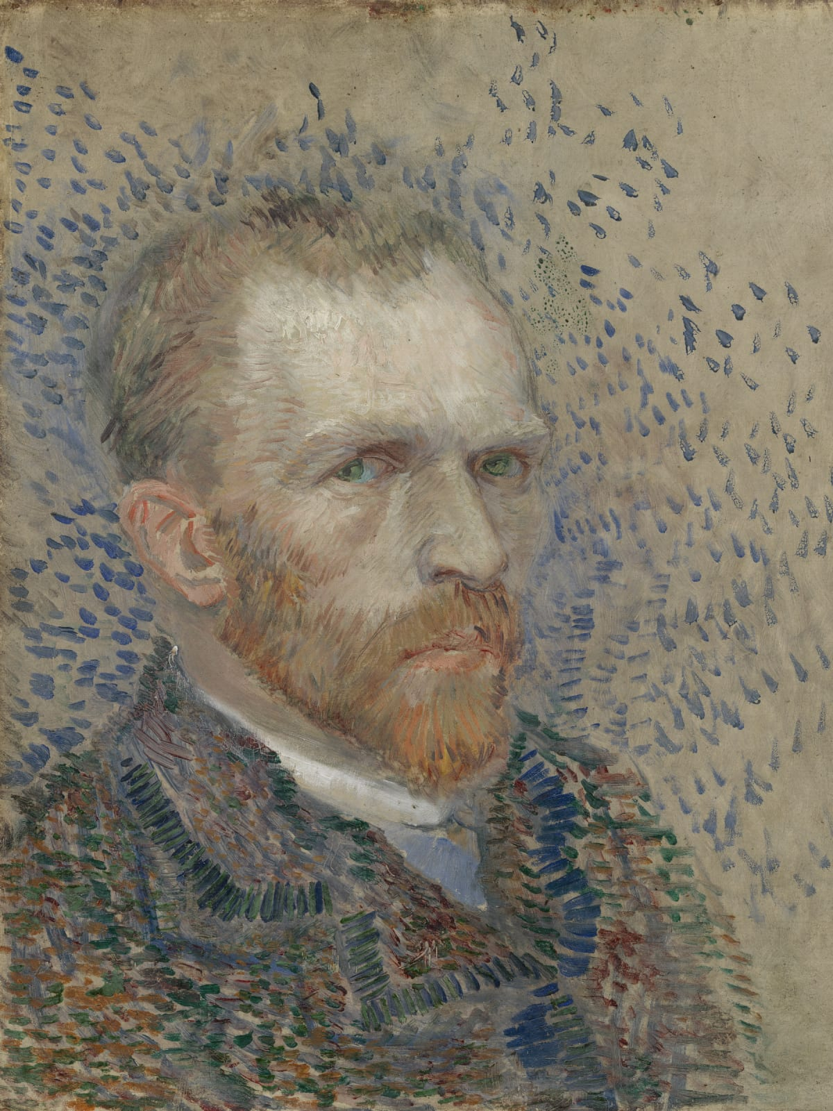 MFAH:Vincent van Gogh: His Life in Art, Self-Portrait