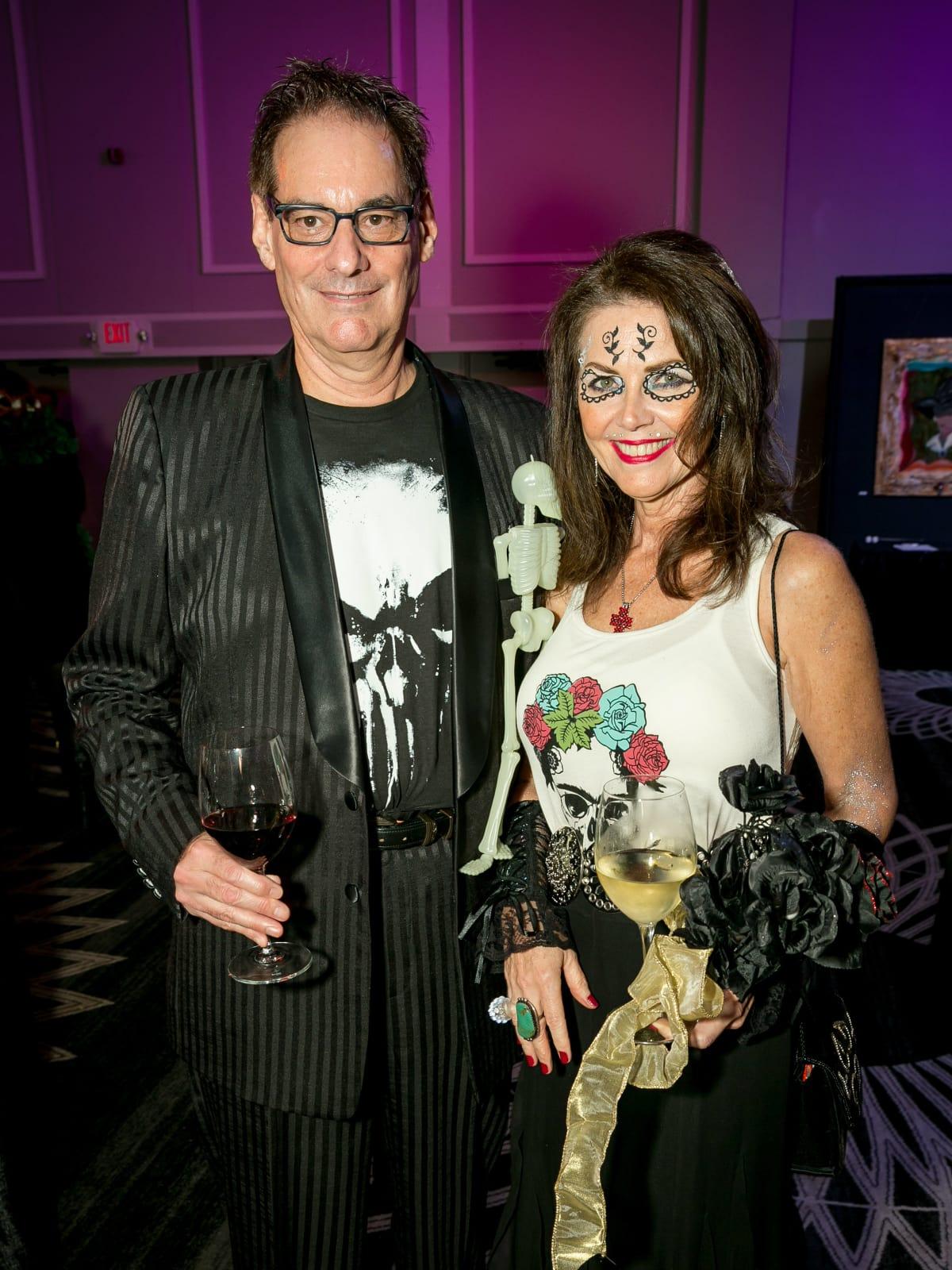 Dale Petrini, Dr. Michelle Cummins - Orange Show Gala 2018