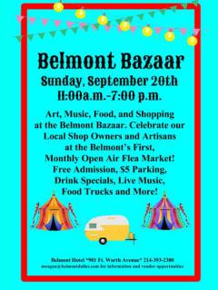 Belmont Bazaar