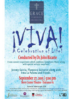 Grace Symphony Orchestra Viva! A Celebration of Life!