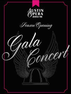 Austin Opera's Season Opening Gala Concert