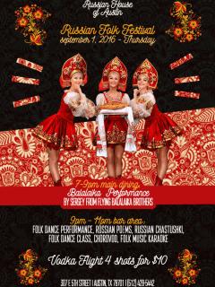 Russian House of Austin presents Russian Folk Festival