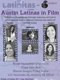 Latinitas Austin & Con Mi MADRE presents Austin Latinas in Film