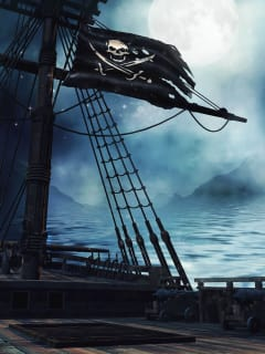 Houston Maritime Museum presents Haunted Pirate Ship Family Day