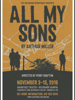 Austin Community College Drama Department presents All My Sons by Arthur Miller