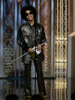 111 Prince Golden Globes fashion January 2015