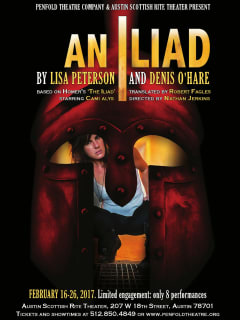 Penfold Theatre Company & Austin Scottish Rite Theater presents An Iliad