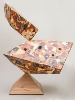 WALL Gallery presents Jeff Robinson: Symmetry in Wood - Towering Visualizations