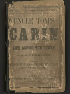Harry Ransom Center presents Uncle Tom's Cabin and the American Stage
