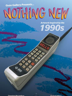 """Guzu Gallery presents """"Nothing New: Artwork Inspired by the 1990s"""" opening reception"""