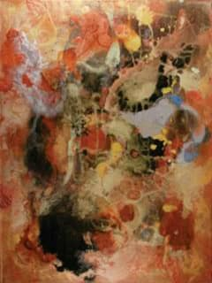 """Archway Gallery presents Donna Perkins: """"Becoming Paint"""" opening reception"""