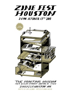 Zine Fest Houston 2015