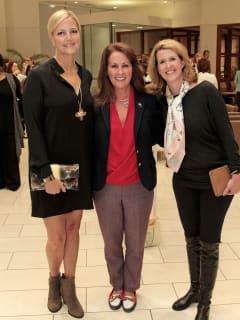 Shannon Johnson, Robin Akin and Tessa Mosteller