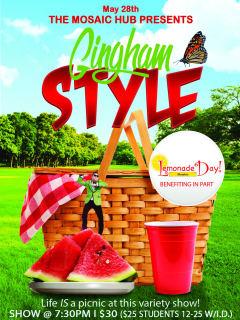 The Mosaic Hub presents Gingham Style: Lemonade Day Houston