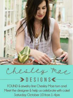 FOUND: Chesley Mae Designs Trunk Show