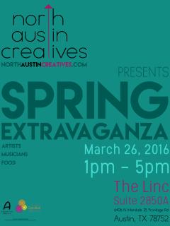North Austin Creatives presents Spring Extravaganza