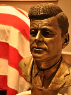 Bust of John F. Kennedy