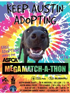 ASPCA Mega Match-a-thon Presented by Subaru