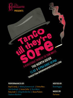 Tango Till They're Sore: A Burlesque Tribute to Tom Waits