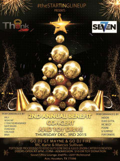 2nd Annual Charity Benefit Toy Drive & Concert