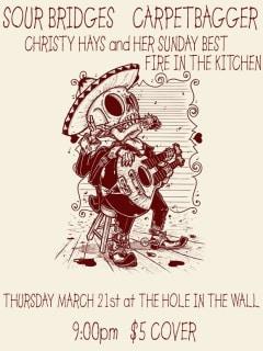 Austin Photo Set: Events_Hootenanny Thursdays_Hole_Mar 2013