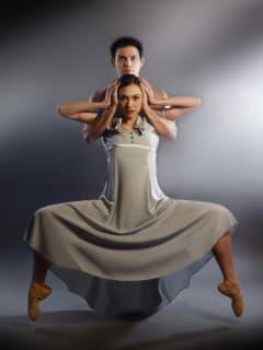 Kimi Nikaidoh and David Escoto in Bruce Wood Dance Project's SIX